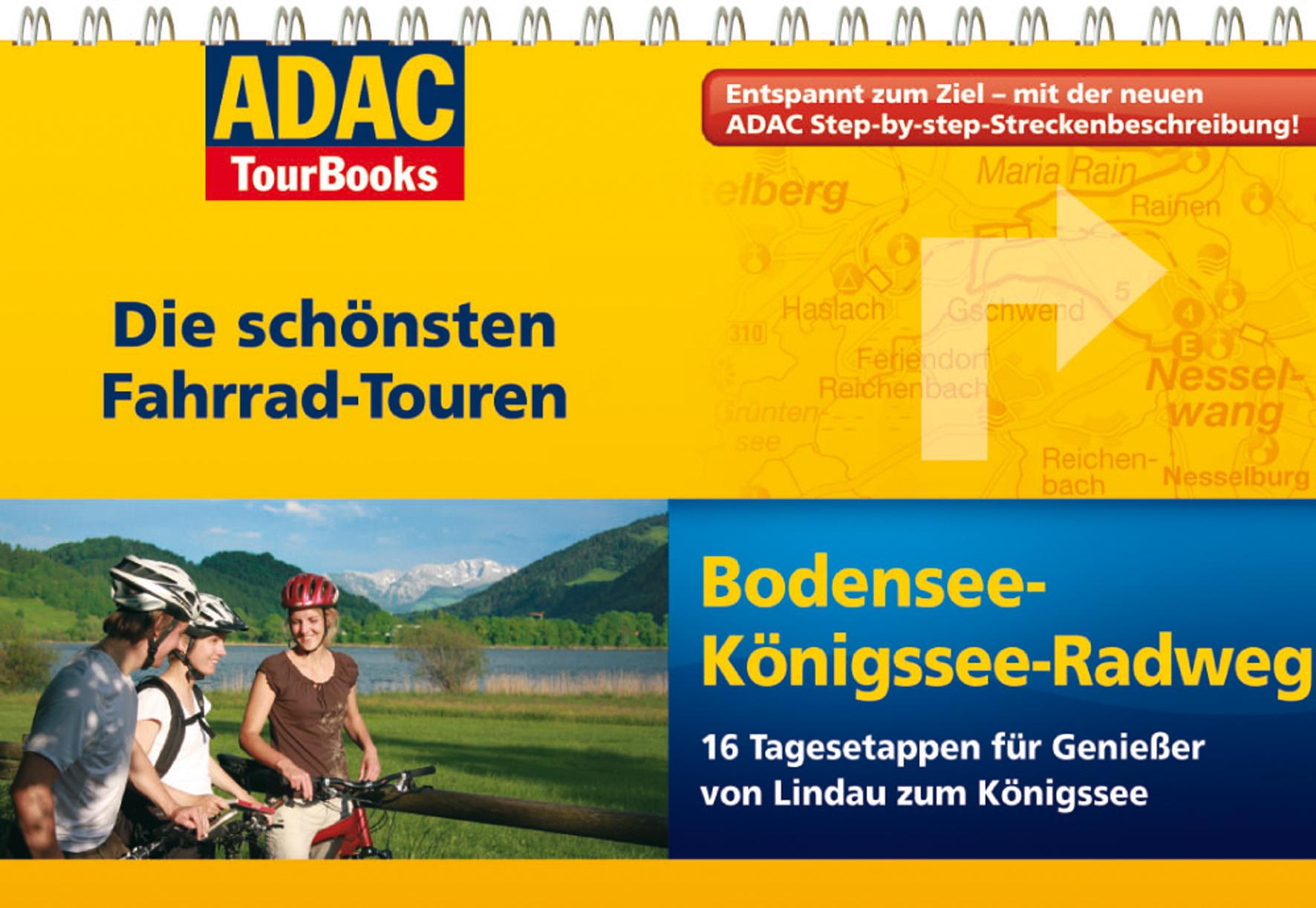 Adac Tourbooks Bodensee Konigssee Radweg Buchbeschreibung Bei