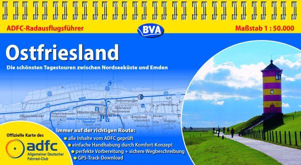 Fahrradwege Ostfriesland Karte.Adfc Radausflugsführer Ostfriesland Radwege In Deutschland De