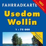 Fahrradkarte Usedom - Wollin