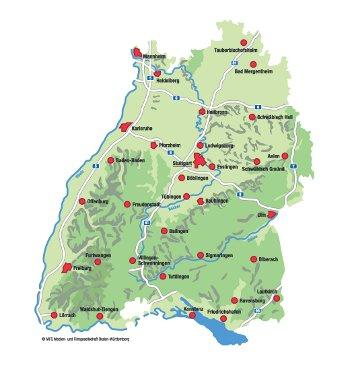 Baden Württemberg Karte